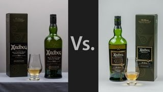 Whisky Video #15: Comparing Ardbeg 10 & Ardbeg Corryvreckan