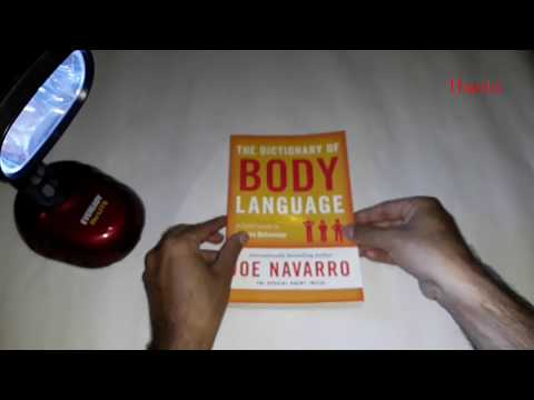 "BOOK "" The Dictionary of Body Language by Joe Navarro"