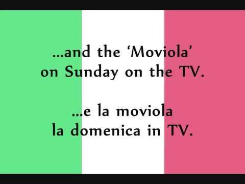 """Toto Cutugno   L'Italiano Lyrics + English Translation """"la chante mi cantare"""""""