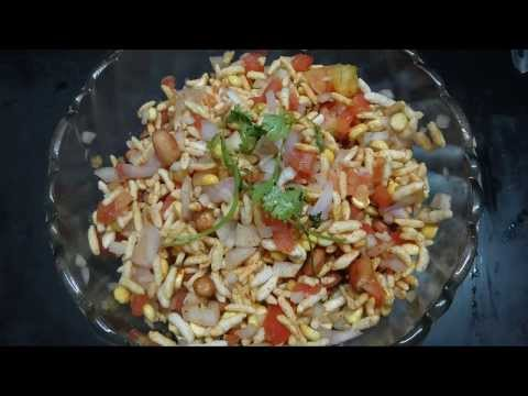 Maramarala Chat Murri Mixture Preparation in Telugu (మరమరాల చాట్)