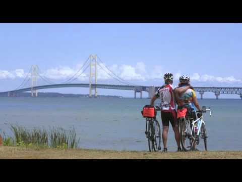 Shoreline West Bicycle Tour: League of Michigan Bicyclists, 30 sec