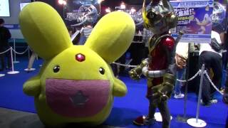 2014年9月20日に幕張メッセで開催された東京ゲームショウ2014(一般公開日1日目)セガブースより。