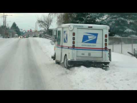 usps .... nothing can stop them from delivering our mail!!