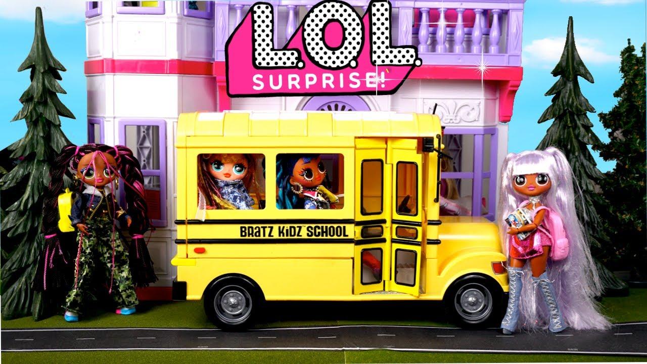LOL OMG Dolls School Story - Lesson about Friendship