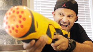 One of GunVsGun's most viewed videos: NERF SPY WAR!