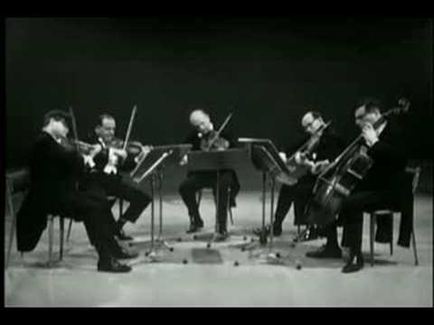 Mozart: String Quint N3 K516 2/4 Amadeus (6.1966)