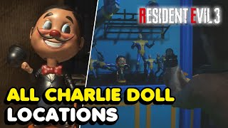 All Charlie Doll Locations In Resident Evil 3 Remake (Goodbye, Charlie! Trophy Guide) RE3