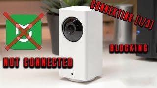 xiaomi dafang не подключается (Connect1/3) Решение !!!