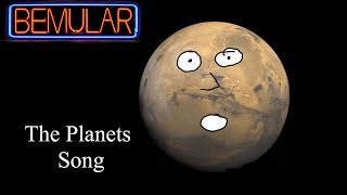 Bemular - The Planets Song (Educational Kids Music & Video) thumbnail