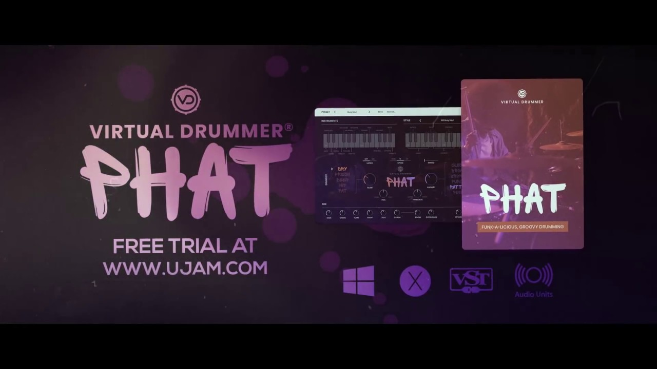 UJAM Announces New Virtual Drummer Plug-in Series : Ask Audio