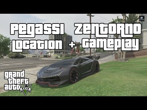 GTA 5 & GTA online - Pegassi Zentorno (Location + Gameplay ...
