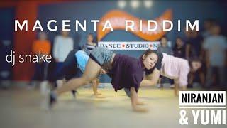 DJ snake - Magenta Riddim | Hiphop Dance Choreography | NiranJan & YuMi