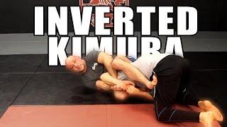 Inverted Kimura from failed Kimura in Half Guard