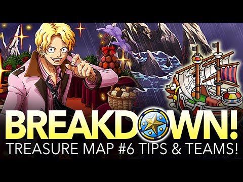 TREASURE MAP #6 TIPS & TEAMS! Preparation Against Sabo! (One Piece Treasure Cruise - Global)