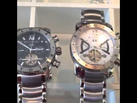 5e0f200035b Relógios Bvlgari Iron Man -  Boutiquedosrelogiosto - YouTube