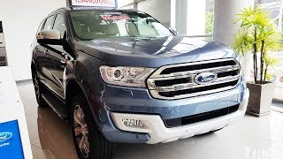 Ford Everest 2017 2.2L Titanium+ ราคา 1,569,000 บาท