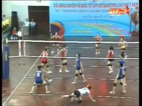 Set 1 Viet Nam vs NHCT at VietsoPetro Cup 2012