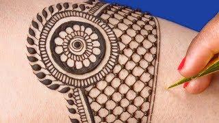 Bridal Mehndi Design for Hands | Full Hand Mehndi Design for Hands by Sonia Goyal #435