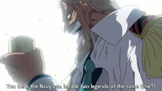 Vice Admiral Garp speaks about the Dark king Silvers Rayleigh