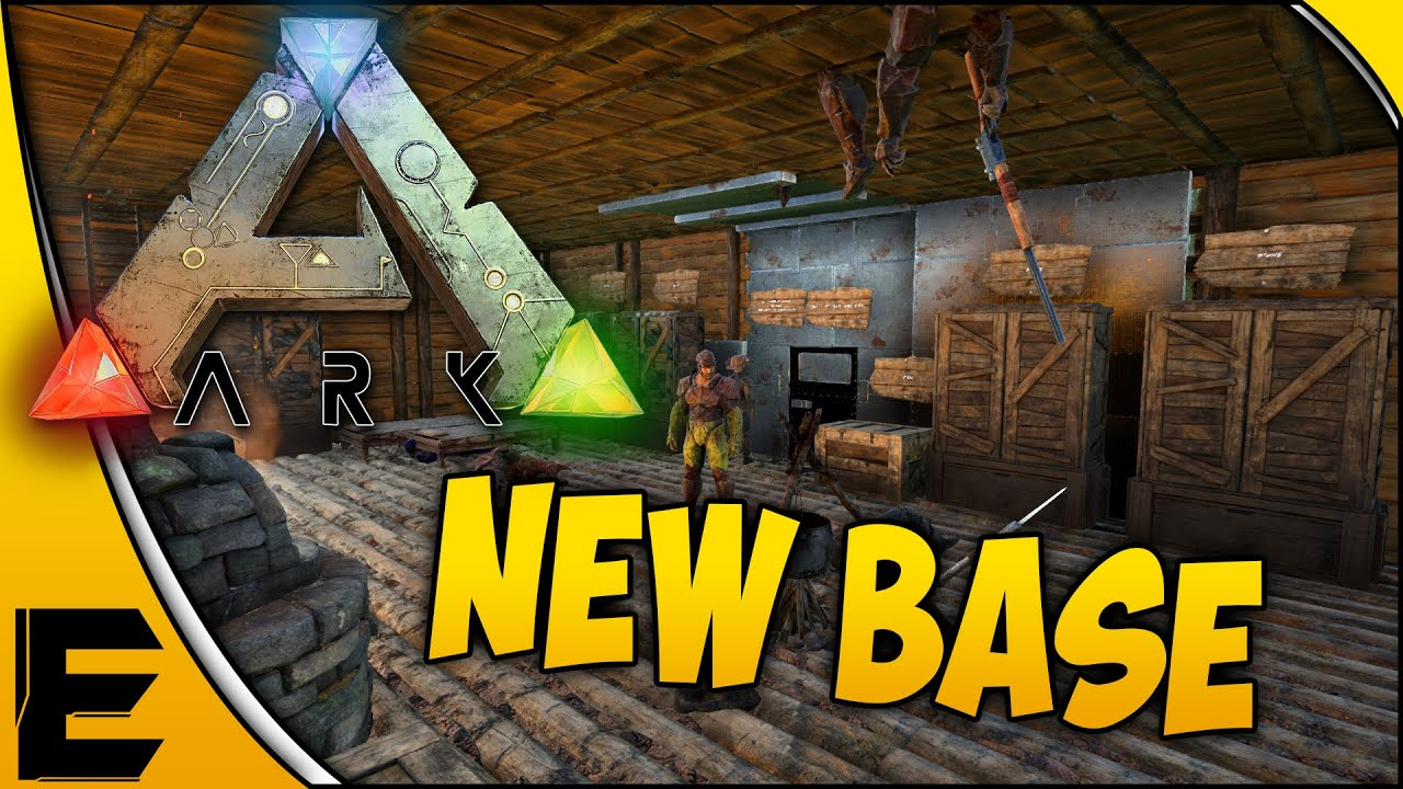 Ark survival evolved gameplay the new base part 25 youtube malvernweather Image collections