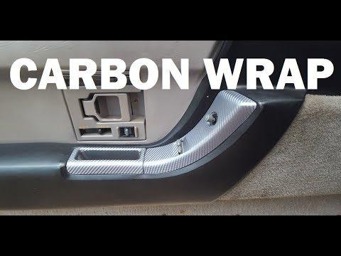Beginning the C4 Corvette Vinyl Wrap - Interior 1991 Vette