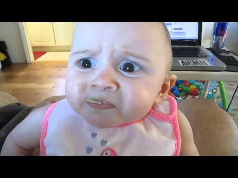 Babies reaction to avocados