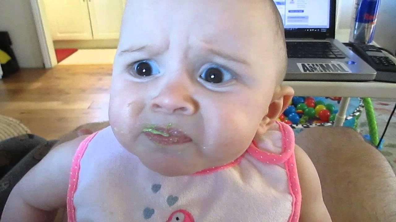 Cute Babies Eating Food Images