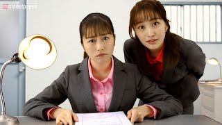 YouTube動画:ももクロ、アメとムチ作戦で取調官を演じる 太田漢方胃腸薬Ⅱ新CM「取り調べ」篇&メイキング