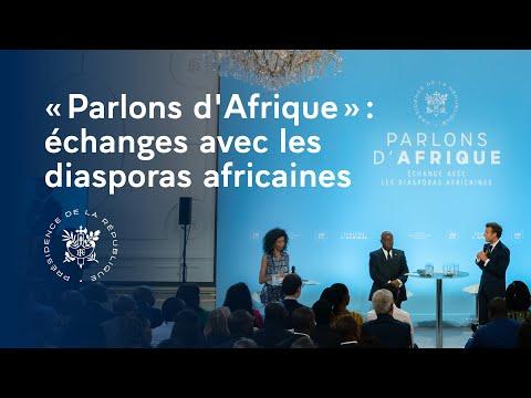 « Parlons Afrique » : échanges avec les diasporas africaines