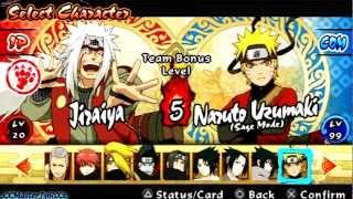 Naruto Shippuden Ultimate Ninja Impact Tag: Jiraiya & Minato Vs The Six Paths of Pain