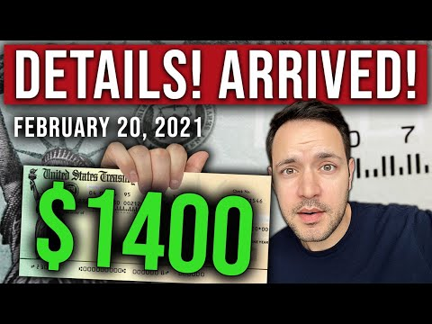 (it's-here!-$1400-check-official-details!)-$1400-stimulus-check-update-&-stimulus-package-02/20/2021