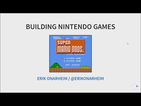 Building Nintendo (NES) Games in 6502 - YouTube