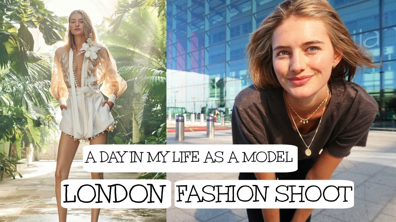 A Day In My Life As A Model In London | Life On Set, Zimmerman, & London | Sanne Vloet
