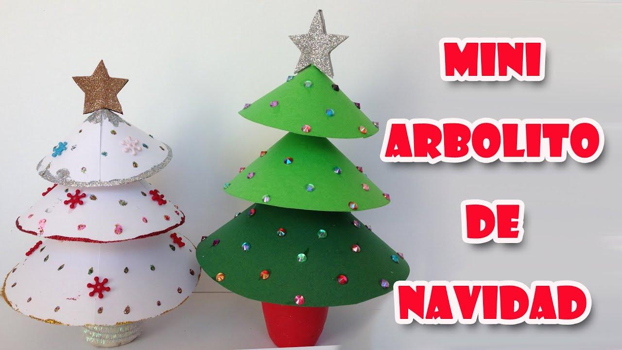 Adornos navide os mini arbolito de navidad christmas - Adorno de navidad manualidades ...