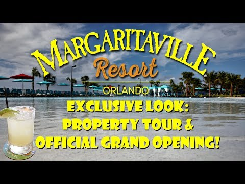 EXCLUSIVE LOOK!: Margaritaville Resort Orlando Property Tour & Grand Opening!