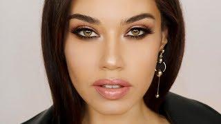 Full Glam Makeup using 1 Eyeshadow Palette | Smoldering Oscar 2018 Makeup | Eman