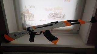 Making REAL LIFE AK-47:Asiimov Part 2|Создание AK-47:азимов СВОИМИ РУКАМИ Часть 2
