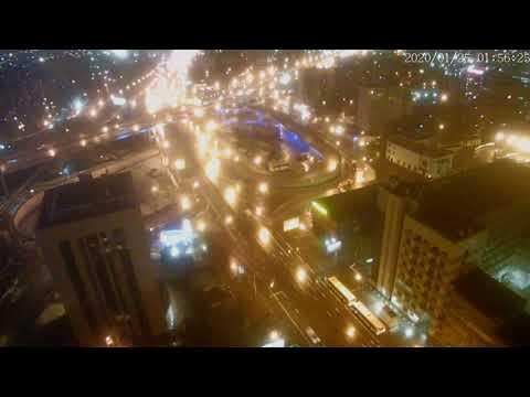 Москва - Нижегородская улица - веб камера 24.01.2020, 22:57