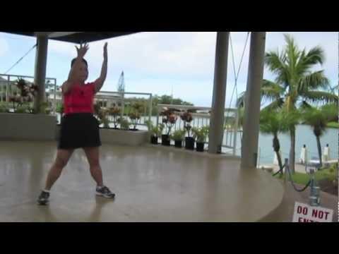 Luk Tung Kuen Chinese Exercise in Hawaii Kai, Honolulu, Hawaii by everydaytaichi by lucy chun