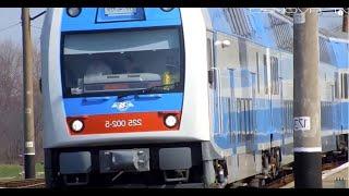Škoda. Двухэтажный поезд на Украине