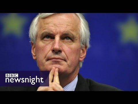 Michel Barnier: Profile of the EU's chief Brexit negotiator - BBC Newsnight