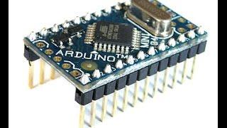 Arduino Pro Mini Programming with Arduino UNO or Duemilanove
