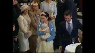 Prins Christian - Dåbs Receptionen