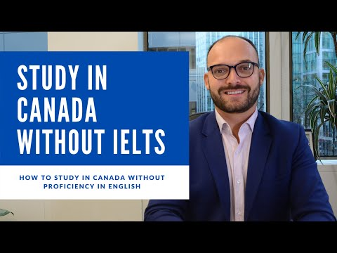 WHO TO STUDY IN CANADA WITHOUT IELTS