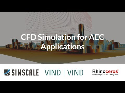CFD Simulation for AEC Applications - Session 3: Air Conditioning and Ventilation