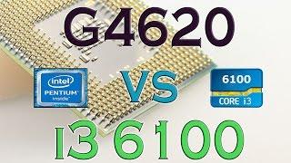 g4620 vs i3 6100 benchmarks gaming tests review and comparison kaby lake vs skylake