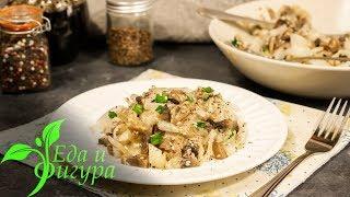 Необычный салат из дайкона с шампиньонами, который приготовит даже школьница