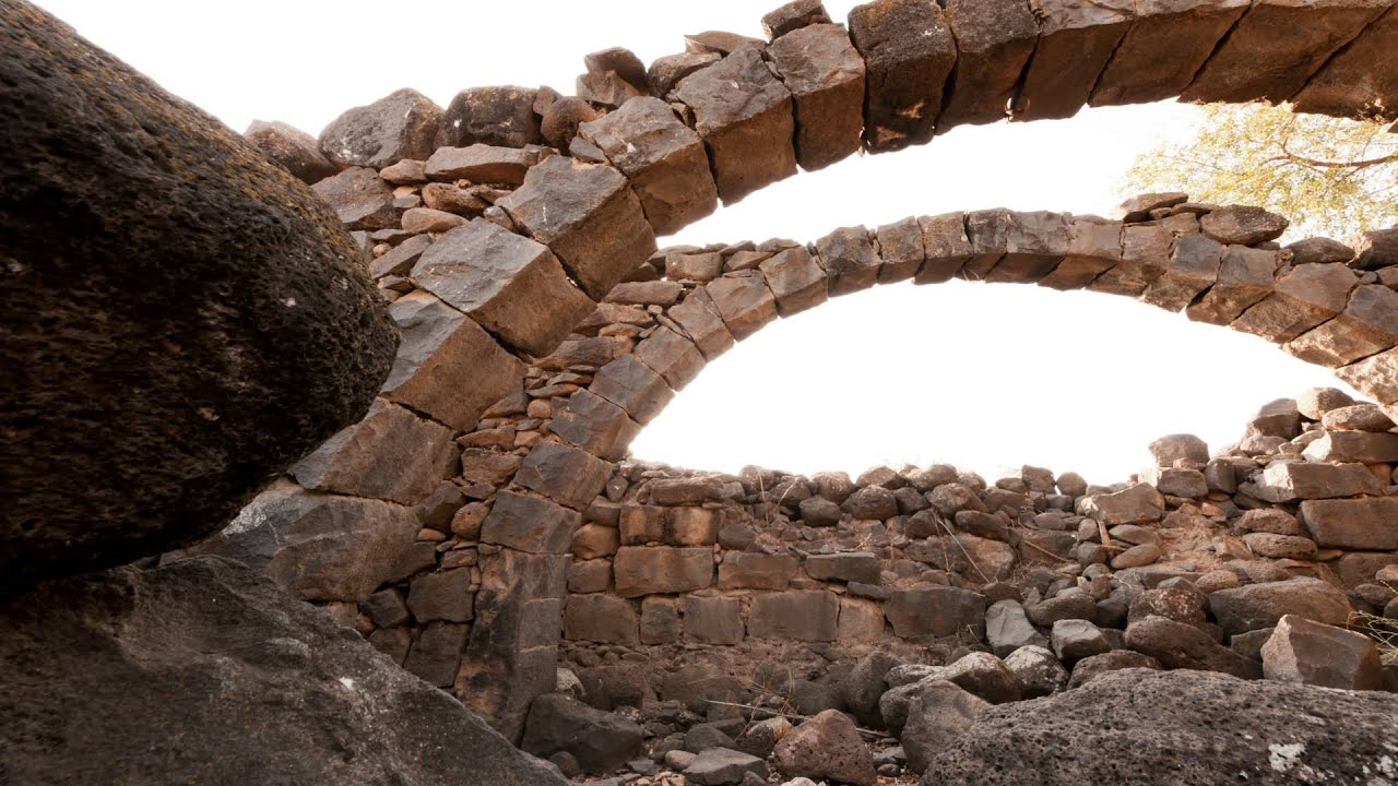 how to make a stone arch