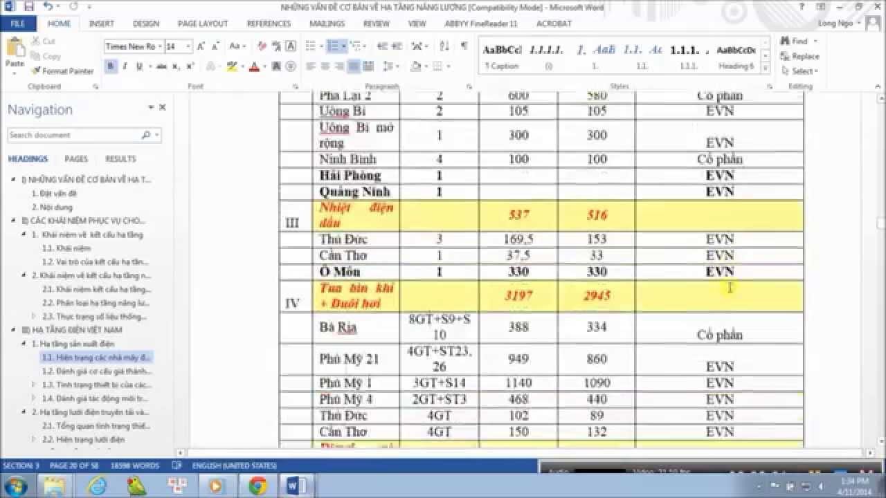 Chèn footer hoặc header theo ý muốn chi tiết (Bài 6)