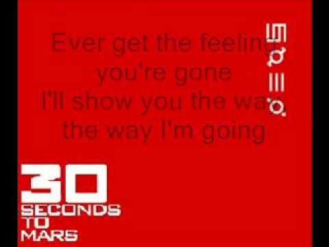 30 Seconds To Mars - Capricorn (lyrics)